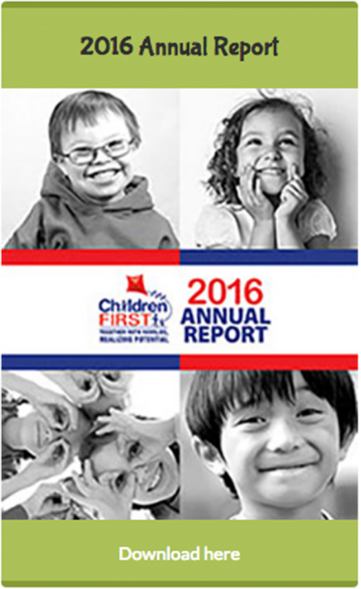 Children First Annual Report 2016