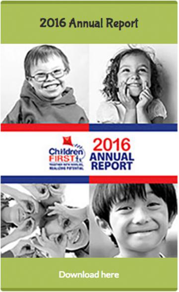 Children First Annual Report 2016