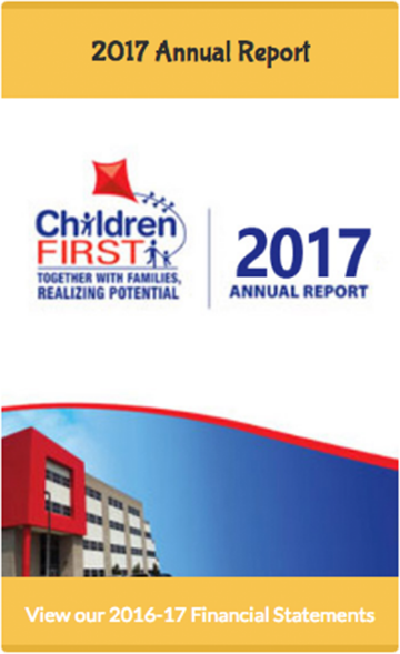 Children First Annual Report 2017