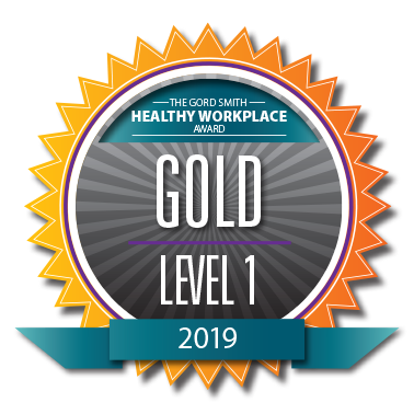 Godl level healthy workplace award